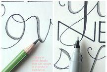 Hand Lettering / by Ellen Badger