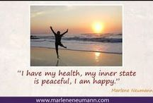 Inspirational Quotes by Marlene Neumann / Inspirational quotes by Marlene Neumann. Photographer, teacher, visionary, philanthropist, philosopher.. Marlene shares her own personal quotations from her insights, teachings and travels. E-mail to order your pack of Inspirational Cards! neumann@worldonline.co.za