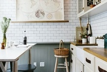 Kitchens. / Kitchens & kitchen elements that just make me swoon.