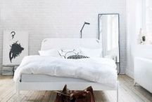 And so to bed. / Beautiful bedrooms.