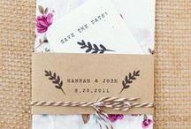 Invitations. / Invitation designs.