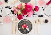 Events | Table dressing. / Beautiful ways to dress, set, decorate and make your table and place settings look gorgeous.