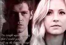 Caroline & Klaus #Klaroline / Dedicated to fangirling over Caroline & Klaus from The Vampire Diaries & The Originals / by Kami Garcia
