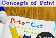 Pre-Reading Tools / Strategies, activities, and idea to help early readers.