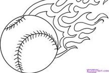 Have a Ball Coloring! / Coloring pages for all baseball fans! #baseball #coloring #getgrizzlie