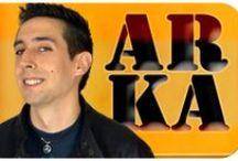 Arka / Galería de fotos de Arka, personaje interpretado por Guillermo Peláez.