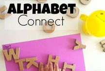 Tools for Learning Letters / Games, activities, tools, and supplies needed to teach your kids the alphabet.
