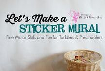 Fine Motor Skills / Activities and games to promote fine motor schools in children from toddlers to preschool and beyond.