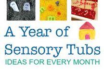Sensory Play Ideas / Awesome ideas for Sensory Play.