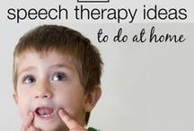 Speech Therapy at Home / Speech therapy activities perfect for an ECE, parents wanting to encourage their child's speech, or teachers and therapists.