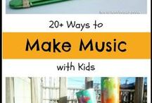 Musical minded / Song lists, songs with movements, and ways to make music for kids.
