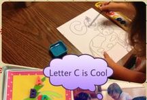 Letter C preschool / Preschool activities, books, and crafts for the Letter C.