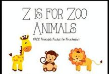 Letter Z Preschool / Preschool activities, books, and crafts for the Letter Z.