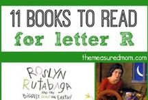 Letter R preschool / Preschool activities, books, and crafts for the Letter R.