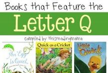 Letter Q preschool / Preschool activities, books, and crafts for the Letter Q.