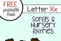 Letter X preschool / Preschool activities, books, and crafts for the Letter X.