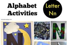 Letter N Preschool / Preschool activities, books, and crafts for the Letter N.