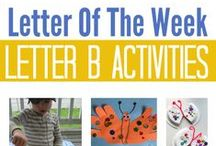Letter B preschool / Preschool activities, books, and crafts for the Letter B.