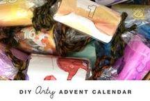 Advent Calendar Ideas / Ideas for creating, building, and setting up an Advent Calendar for kids.