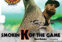 2016 Smokin' K's of the Game / Brought to you by Smokin' K's BBQ, the Smokin' K of the Game informs fans of the game changing strikeout for that particular game.