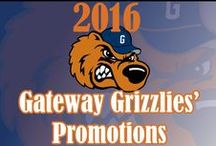 Gateway Grizzlie Promotions / Here is where you can find the latest Gateway Grizzlie promotions for the 2016 season! #HuntingHungry