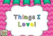 Things I love!