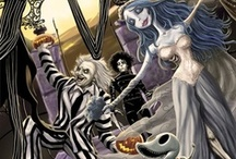Burtonesque   /  Burtonesque is a word that describes a way of life defined by Tim Burton fans.  / by denise leahart