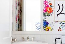 BATHROOMS / Gorgeous bathroom ideas to inspire you on creating your dream decor!