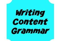 Writing - tips, tricks and helps / Writing for the web, grammar, helps, #writing #blogging #content / by Crochet Business