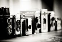 Camera's and lenses / by Kimberly Keefer