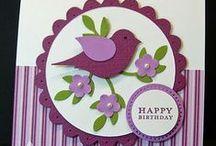 Cards - Birds & Butterflies / by Kim Wright
