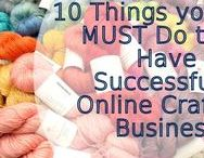 Craft business / Tips of making your handmade crafty business more successful.