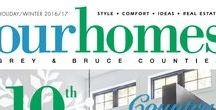 Our Homes Grey and Bruce Counties / OUR HOMES Grey Bruce is your local premium homes, décor & real estate magazine showcasing local homes, products & businesses. Follow us nationally @OurHomesMag and find us on FaceBook.