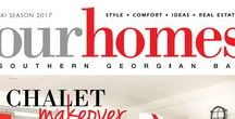 Our Homes Southern Georgian Bay / OUR HOMES Southern Georgian Bay is your local premium homes, décor & real estate magazine showcasing local homes, products & businesses. Follow us nationally on Twitter @OurHomesMag and find us on FaceBook.