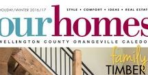 Our Homes Wellington County Orangeville Caledon / OUR HOMES Wellington County Orangeville Caledon is your local premium homes, décor & real estate magazine showcasing local homes, products & businesses. Follow us nationally on Twitter @OurHomesMag and find us on FaceBook.