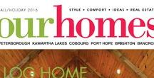 Our Homes Peterborough  Kawartha Lakes  Cobourg  Port Hope  Brighton  Bancroft / OUR HOMES Peterborough is your local premium homes, décor & real estate magazine showcasing local homes, products & businesses. Follow us nationally on Twitter @OurHomesMag and find us on FaceBook.