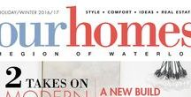 Our Homes Region of Waterloo / OUR HOMES Region of Waterloo is your local premium homes, décor & real estate magazine showcasing local homes, products & businesses. Follow us locally on Twitter @OurHomesKW and find us on FaceBook.