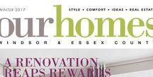 Our Homes Windsor and Essex County / OUR HOMES Windsor and Essex County is your local premium homes, décor & real estate magazine showcasing local homes, products & businesses. Follow us nationally on Twitter @OurHomesMag and find us on FaceBook.