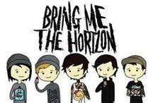 Bring Me The Horizon / A band that I love a lot. #BMTH #bringmethehorizon