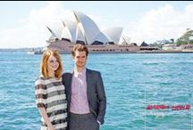 TASM2 Press Tour / Follow Andrew, Emma and the rest of the cast as they travel across the world for The Amazing Spider-Man 2 Press Tour / by The Amazing Spider-Man 2