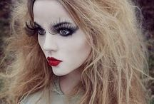 Halloween Costumes And Makeup / #halloweenmakeup #halloweencostumes #halloween #makeup #creepy #skull #scary