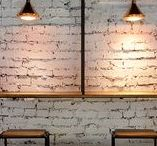 Interior • Industrial & Rustic / An essential aspect of creativity is not being afraid to fail. Edwin Land