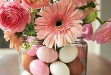 Easter | DIY projects #crafts / Ideas for spring  crafts get togethers