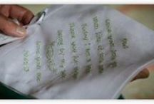 Poems & message ideas for hankies