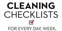Home Organization / Cleaning tips and hacks