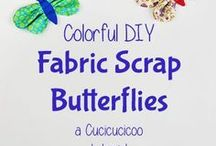Scrapbusting / All sewists have a bag (or many bags!) full of scraps that they just can't bear to throw away. Here are the best ideas for using up your fabric scraps in cool projects!