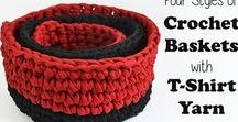 Knit + Crochet: Non-Clothes / The best patterns and instructions for making your own cool knit and crochet decor, toys and other objects!