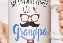 Grandpa Christmas Gift Ideas / Selection of great gift ideas for grandads, grandpa's and pops. Mostly personalised gifts made by artisan makers. Make buying grandads gifts easier this festive time, and buy something super special and unique!