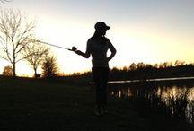 you & me go fishin' in the dark / by Lauren Adair Cooper