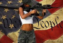 Guns / Protecting yourself with 2nd amendment rights / by Patty